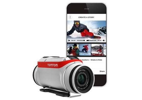 TomTom Bandit met app