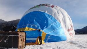 Stilaan krijgt de ballon vorm