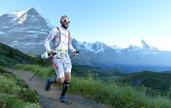 Christoph Vandewiele liep voor Outdoorfan de 101km tijdens de extreme Eiger Ultra Trail 2016.