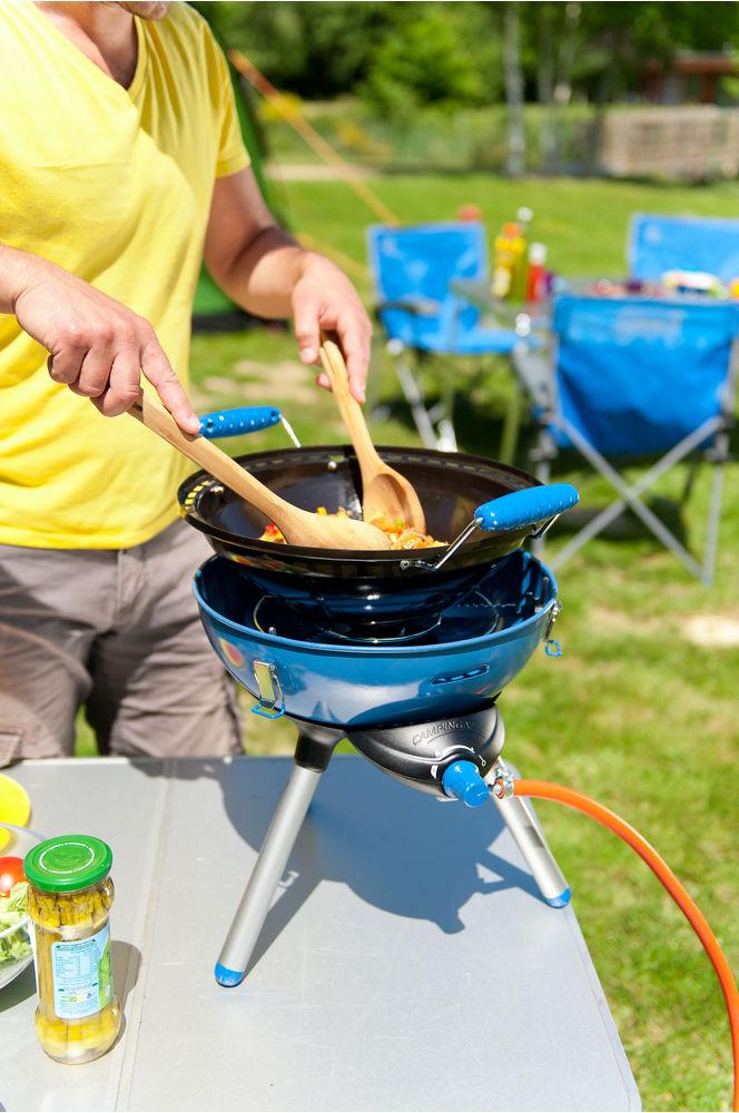 koken op campinggas